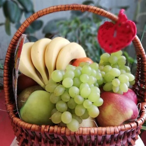 """Корзина """"С фруктами - 1"""""""