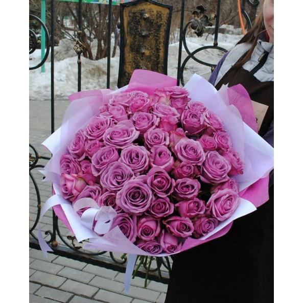 """Букет """"Розы (50см) - 25 шт"""""""