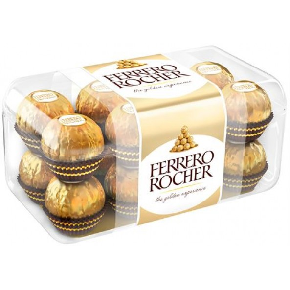 Конфеты Ферреро Роше с кремом и лесным орехом 200г