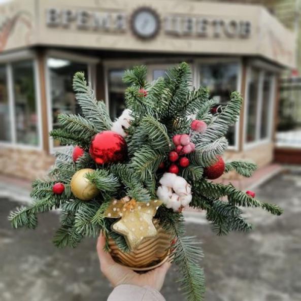 """Композиция """"Новогодняя-4"""""""