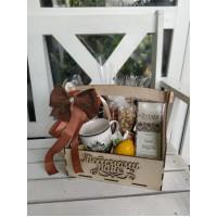 Подарочный набор «Чай и кружка в свитере»