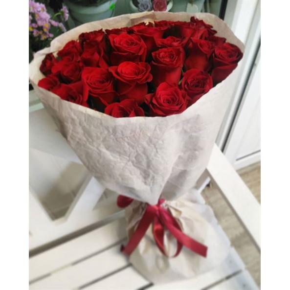 """Розы """"Красные (50см)-3"""""""