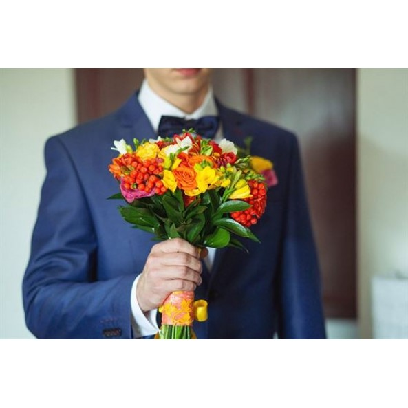 """Свадебный букет """"Осенний-1"""""""