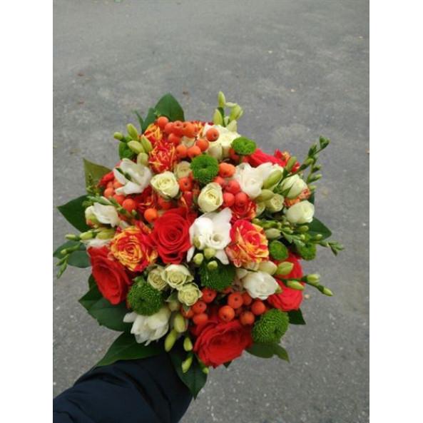 """Свадебный букет """"Осенний 2"""""""